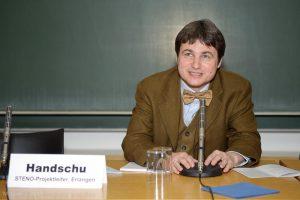 PD Dr. René Handschu, STENO-Projektleiter 2007 bis 2011 © STENO/M. Lorenz